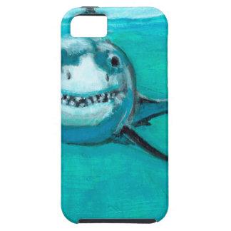 """Capa Para iPhone 5 """"Wayne"""" o grande tubarão branco"""