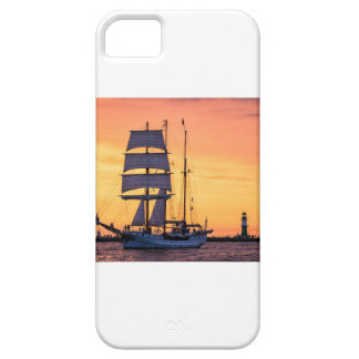 Capa Para iPhone 5 Windjammer no mar Báltico