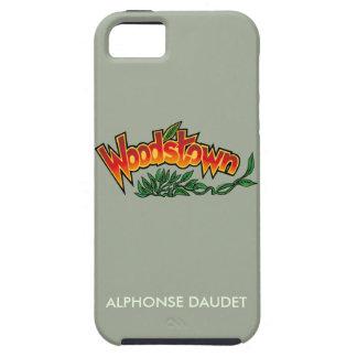 Capa Para iPhone 5 Wood'stown por Alphonse Daudet