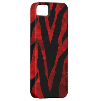 Capa Para iPhone 5 Zebra Iphone vermelho 5