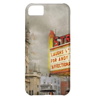 Capa Para iPhone 5C A cidade - Amsterdão NY - vida começa 1941