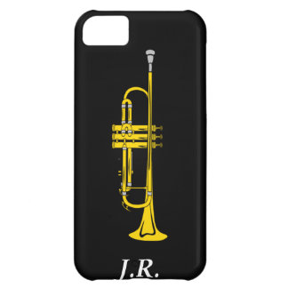 Capa Para iPhone 5C A trombeta do jazz adiciona sua case mate Iphone4