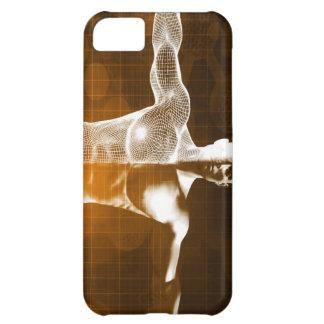 Capa Para iPhone 5C Abstrato da ciência como uma arte do fundo do