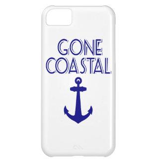 Capa Para iPhone 5C Âncora litoral ida dos azuis marinhos