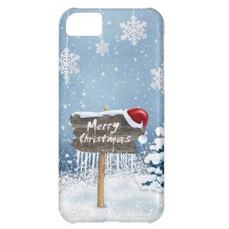 Capa Para iPhone 5C Arte do Natal - ilustrações do Natal