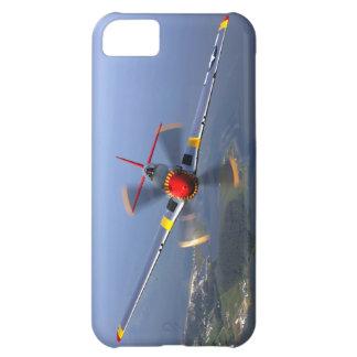 Capa Para iPhone 5C Aviões de lutador do mustang P-51