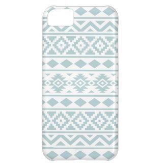Capa Para iPhone 5C Azul asteca do ovo do pato de Ptn III da essência