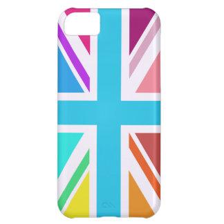 Capa Para iPhone 5C Bandeira de união/design de Jack - Multicoloured