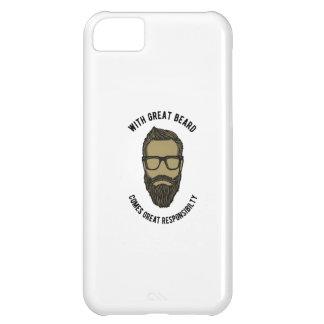 Capa Para iPhone 5C beard