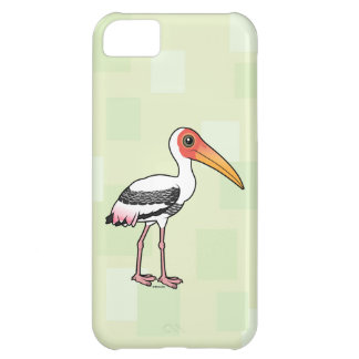 Capa Para iPhone 5C Birdorable pintou a cegonha