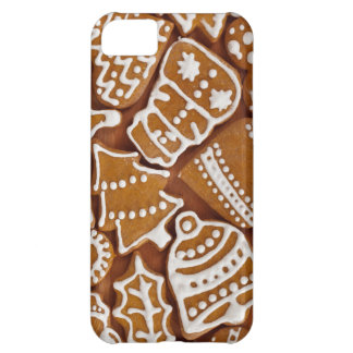 Capa Para iPhone 5C Biscoitos do feriado do pão-de-espécie do Natal