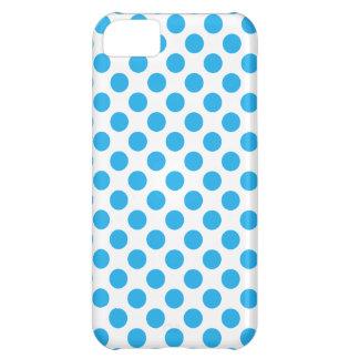 Capa Para iPhone 5C Bolinhas azuis