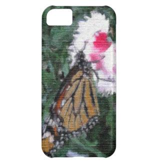 Capa Para iPhone 5C Borboleta de monarca
