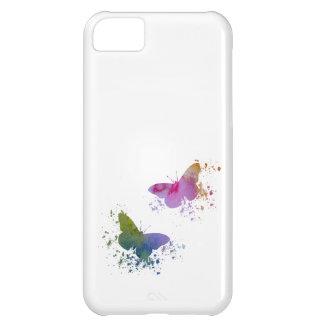 Capa Para iPhone 5C Borboletas