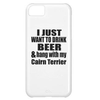 Capa Para iPhone 5C Cair com meu monte de pedras Terrier