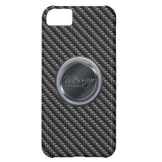 Capa Para iPhone 5C Caixa do speck da fibra 2A do carbono