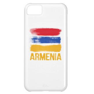 Capa Para iPhone 5C Camisas da bandeira de Arménia
