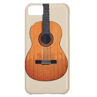 Capa Para iPhone 5C caso do design da guitarra para o iPhone 5C