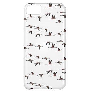 Capa Para iPhone 5C Caso do iPhone 5 dos flamingos do vôo (escolha a