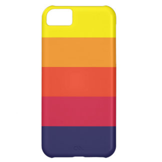 Capa Para iPhone 5C Caso do iPhone 5C do verão do por do sol
