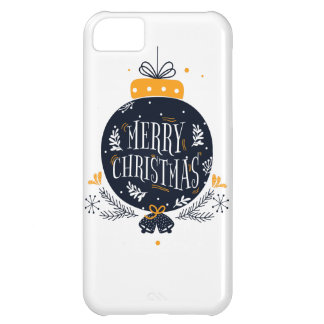 Capa Para iPhone 5C caso do Natal do iPhone 5C