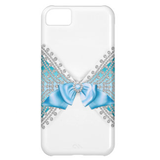 Capa Para iPhone 5C Caso feminino do arco do brilho do jewell