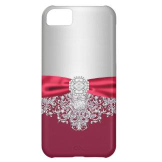 Capa Para iPhone 5C Caso feminino do brilho do jewell