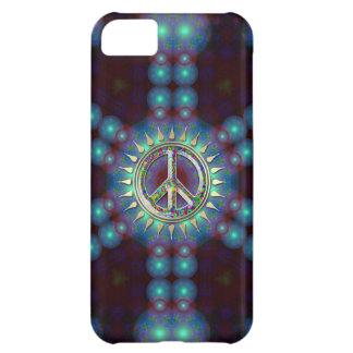Capa Para iPhone 5C Caso Groovy do iPhone 5 do sinal de paz de