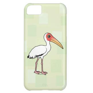 Capa Para iPhone 5C Cegonha leitosa de Birdorable