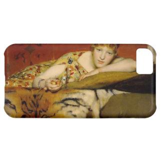Capa Para iPhone 5C Cerejas por Lawrence Alma-Tadema