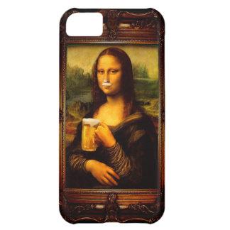 Capa Para iPhone 5C Cerveja de Mona lisa - de Mona lisa - lisa-cerveja