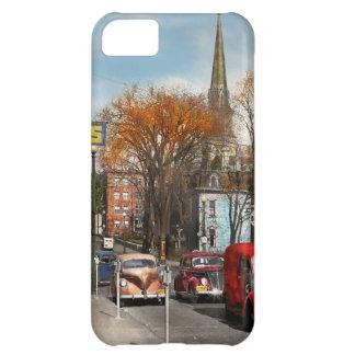 Capa Para iPhone 5C Cidade - Amsterdão NY - Amsterdão do centro 1941