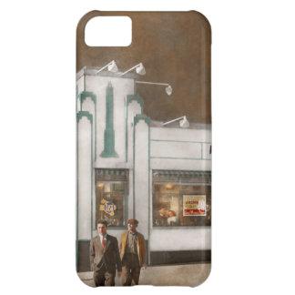 Capa Para iPhone 5C Cidade - Amsterdão NY - Hamburger 5 centavos 1941