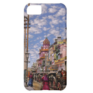Capa Para iPhone 5C Cidade - Nova Orleães a era 1887 do Victorian