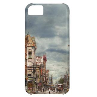 Capa Para iPhone 5C Cidade - NY - o mercado nunca em mudança 1906