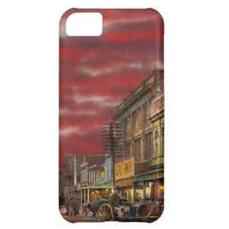 Capa Para iPhone 5C Cidade - NZ - o distrito 1908 da compra