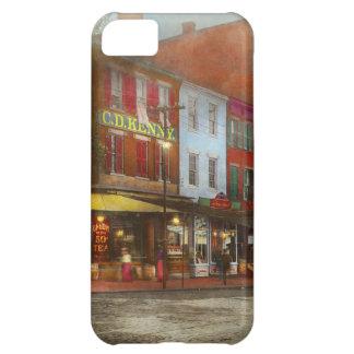 Capa Para iPhone 5C Cidade - Washington DC - vida na 7a rua 1912