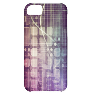 Capa Para iPhone 5C Conceito abstrato futurista na tecnologia