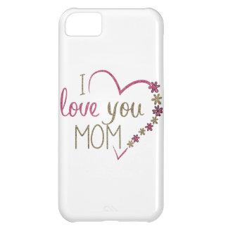 Capa Para iPhone 5C Coração do dia das mães da mamã do amor