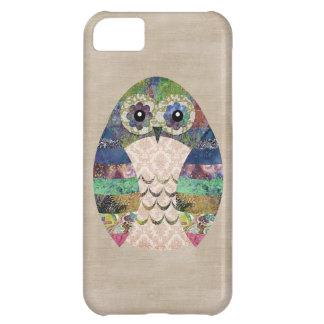 Capa Para iPhone 5C Costume boémio do pássaro de Boho da coruja