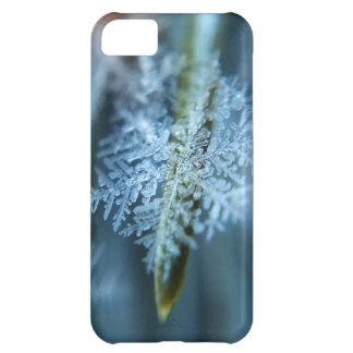 Capa Para iPhone 5C Cristal de gelo, inverno, neve, natureza