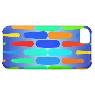 Capa Para iPhone 5C Design colorido do abstrato das formas
