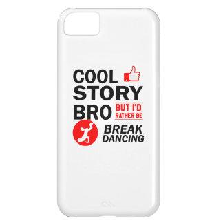 Capa Para iPhone 5C Design legal da dança de ruptura