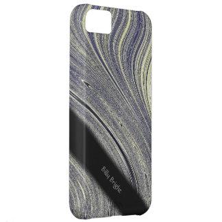 Capa Para iPhone 5C Do reflexo azul do Fractal de Bloomin caso iPhone5