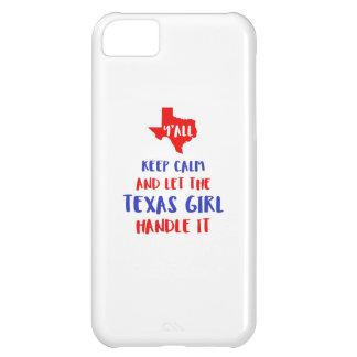 Capa Para iPhone 5C Engraçado você camisetas da menina de Texas