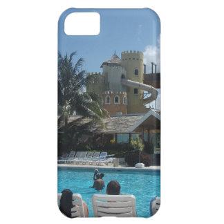 Capa Para iPhone 5C Estância de Verão do por do sol, caso do iPhone 5C