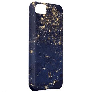 Capa Para iPhone 5C Estilo bonito Sparkling da forma dos começos do