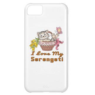 Capa Para iPhone 5C Eu amo meu Serengeti