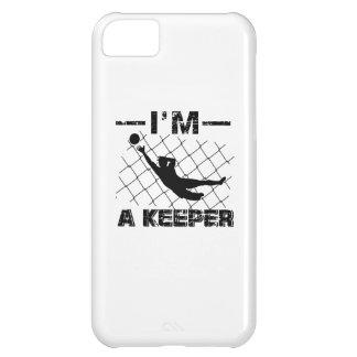 Capa Para iPhone 5C Eu sou um depositário - design do guarda-redes do