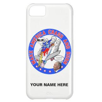 Capa Para iPhone 5C Faça América deixar de funcionar & queimar-se